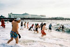 Brighton Christmas day swim