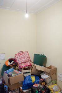 donations at refugee camp Pikpa, Lesbos