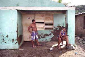 Pareja playa, Cuba