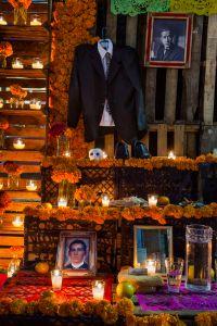 Altar on Noche de Muertos