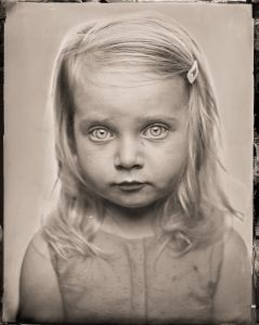S - as a tintype