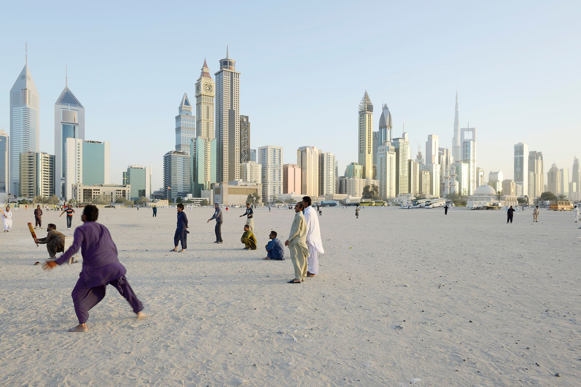 Arabian Transfer: Iconic Architecture and Everyday Street Life